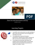final green data use   assessment literacy ppt pptx