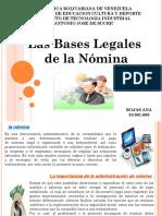Trabajo Bases Legales Ana Rojas