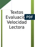 TEXTOS Velocidad Libro