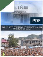 Municipio de Oxchuc Chiapas