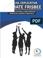 Cartilha Explicativa Ultimate Frisbee