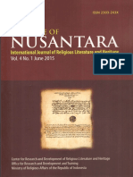 Sanad and Ulama Network of the Quranic Studies in Nusantara