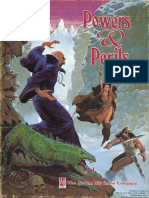 Powers Perils RPG Book 1-2