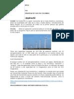 Energia Alterna de Uso en Colombia