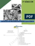 [Cliqueapostilas.com.Br] Apostila de Matematica Basica Para Fisica