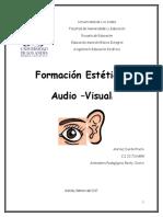 Trabajo Formación Estética Audiovisual