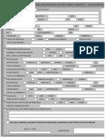 Ficha de Inscrição PosCultura