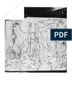 Guernica Picasso Draft