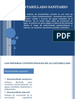 ALCANTARILLADO SANITARIO ppt