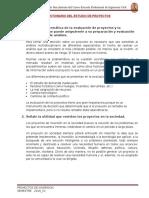 cuestionario 1 preparación y evaluacion de proyectos