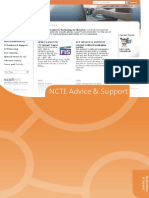 NCTE Advice Support