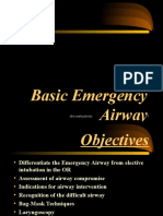 Basic Emergency Airway Management (ECCE-II 2013).ppt