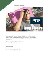 Efecto Plasholder en Textbox