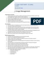 Rotary's Public Image Management