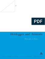 (Continuum Studies in Continental Philosophy) Michael Bowler-Heidegger and Aristotle_ Philosophy as Praxis-Continuum (2008)