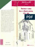 Sara Mata de López - Persistencias y Cambios. Salta y El Noroeste Argentino. 1770-1840. - Tierra en Armas. Salta en La Revolución