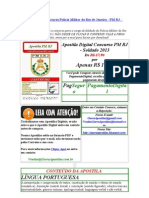 Apostila Digital Concurso Policia Militar do Rio de Janeiro - PM RJ - Soldado 2013