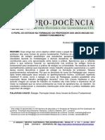 O PAPEL DO ESTÁGIO NA FORMAÇÃO DO PROFESSOR DOS ANOS INICIAIS DO.pdf
