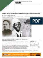 Cinco textos feministas centenários que continuam atuais — CartaCapital.pdf