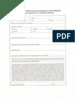 Application for Wildlife Rehab Permit1