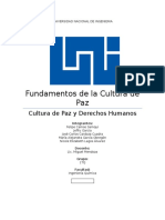 Fundamentos de La Cultura de Paz