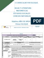 Planificación Bloque Microcurricular 2015 Seis