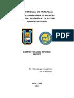 01. Guia Redaccion Informe - Estructura