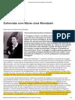 5 MONDZAIN_O Poder Das Imagens - Entrevista2