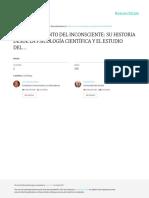 Hisotria Del Inconsciente El Resurgimiento Del Inconsciente Su Historia Desd