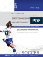 soccer injuries and prevention