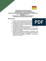 TALLER  No. 5 CONCEPCIONES REDISEÑO CURRICULAR Y EL PLAN DE ESTUDIOS