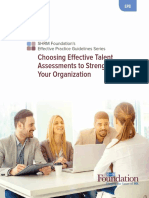 january 2017 monthly article - choosing effective talent assessments to strengthen your organization