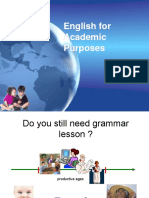 2 English for Academic Purposes - Reading