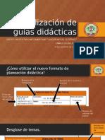 Actualización de Guías Didácticas Presentacion