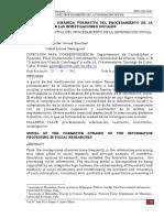 MODELO DE LA DINÁMICA FORMATIVA DEL PROCESAMIENTO DE LA INFORMACIÓN EN LAS INVESTIGACIONES SOCIALES