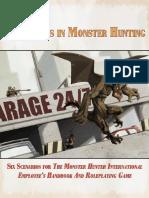 Adventures in Monster Hunting