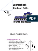 Youth QB Drills