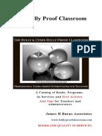 The Bully Proof Classroom Catalog IK