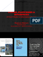 Mattern, Stacks, Platforms + Interfaces
