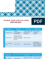 Agenda ujian sekolah,usbn, dan un 2017.pptx