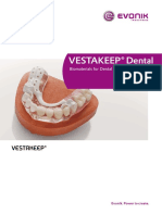 Peek VESTAKEEP Dental Brochure DK MODERN Plastics