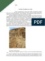 Geologia rocas argiláceas