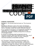 Insurance Code Ppt