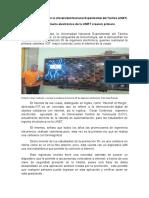 Estudiantes de Ingeniera Electrónica de La Unet Realizan Primera Cartelera IOT