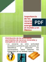 Espacios Minerales en México y El Mundo.ppt