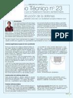 Cuaderno Tecnico Nro. 23 - Construccion de La Defensa