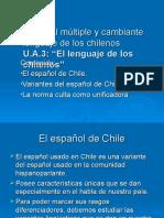 Variantes del español de Chile.ppt