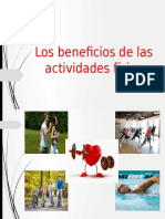 Los Beneficios de Las Actividades Física
