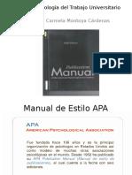 Presentación APA. Definitivo10 Con Ejemplos
