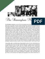 The 1963 Birmingham Movement